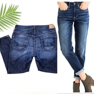 American Eagle Tomgirl Short Jeans Button Fly 10